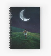 Moonlight Swing Spiral Notebook
