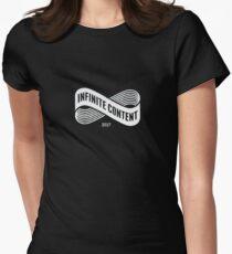 Arcade Fire - Infinite Content 2017 Women's Fitted T-Shirt