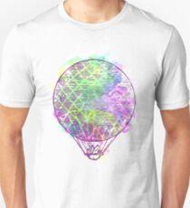 Watercolor hot air balloon AP101 T-Shirt
