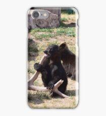 Baby Black Bears Playing iPhone Case/Skin