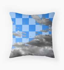 Cloud with Pattern 4.0-2 Throw Pillow