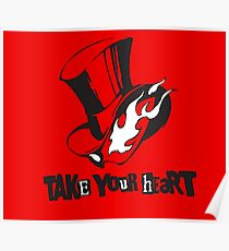 Persona 5 Phantom Thieves Logo Poster