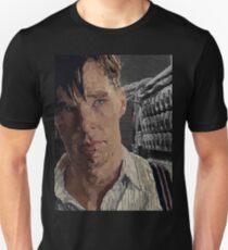 The Imitation Game - Benedict Cumberbatch Digital Portrait  Unisex T-Shirt