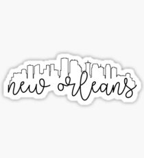 cityscape outline - new orleans Sticker