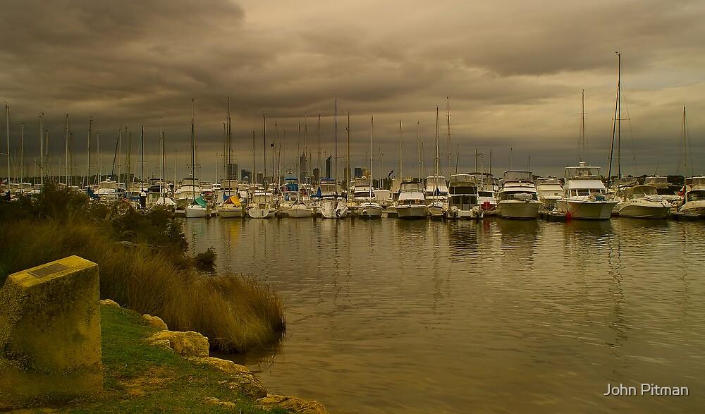 Boats by John Pitman
