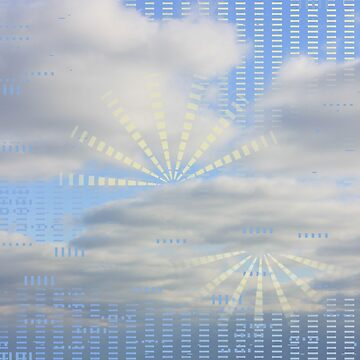 Cloud with Pattern 10 by MisFish