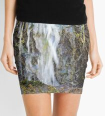 Mini Canyon Waterfall  Mini Skirt