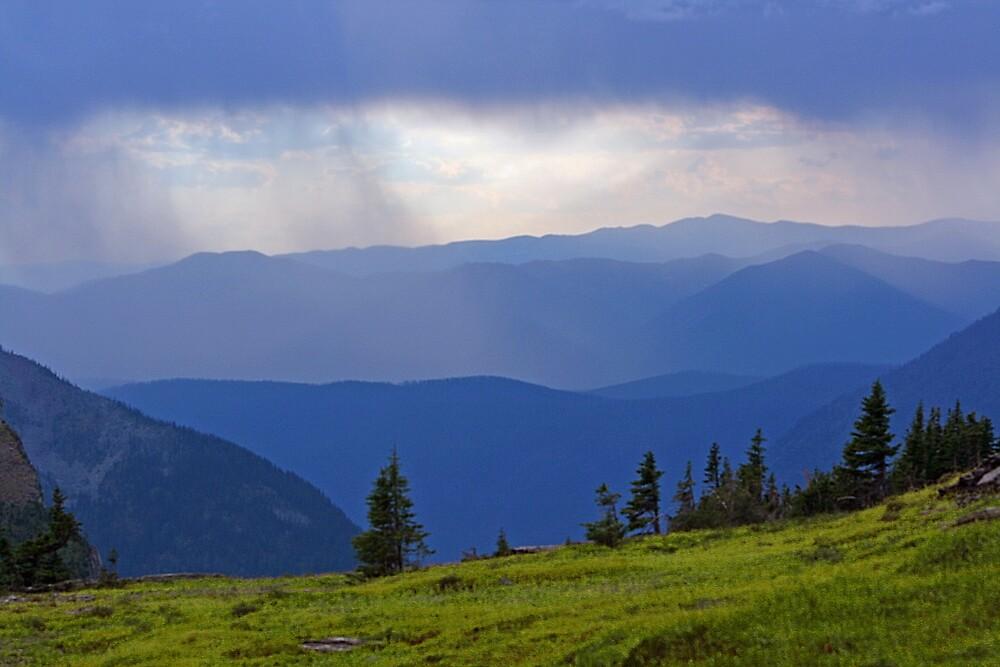 Mountain Rain by Ken Fortie