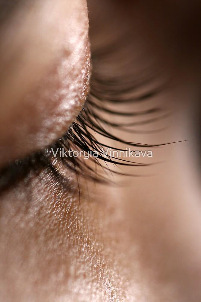 Eyelashes by Viktoryia Vinnikava