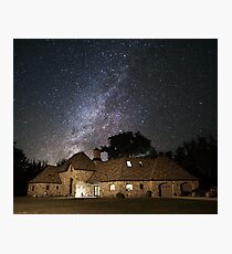 The Milky Way from rural Iowa Photographic Print
