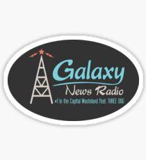 Radio Free Wasteland Sticker