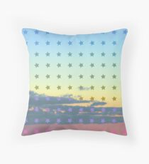 Cloud pattern 12-1 Throw Pillow