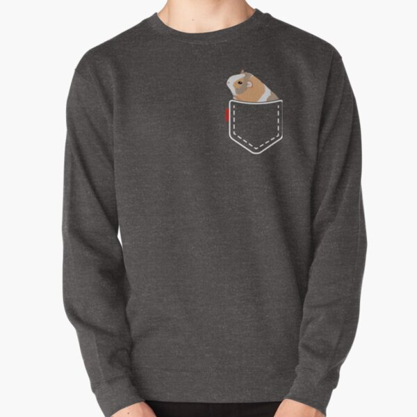 Guinea Pig Pocket Pullover Sweatshirt
