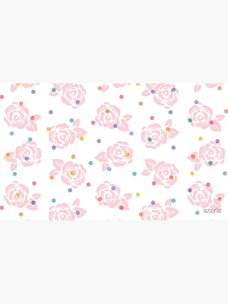 Polka Dot Roses by istaria