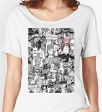 Red Riot: Manly-hearted Hero Women's Relaxed Fit T-Shirt