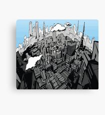 Persona 5 City Canvas Print