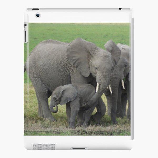 Elephant Family Photo iPad Snap Case