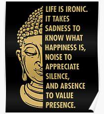 Buddhism Life Poster