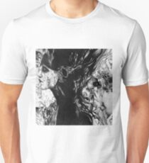 I call to the darkness, 2017, 50-50 cm, graphite crayon on paper T-Shirt