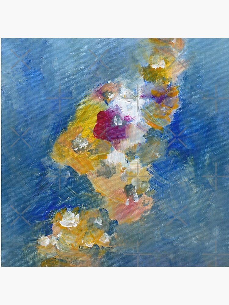 Abstract Flowers Painting  by whya
