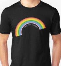 Look It's A Rainbow - Colorful Beautiful  T-Shirt