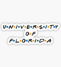 university of florida friends logo Sticker