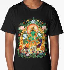 Buddha Buddhism Green Tara Long T-Shirt