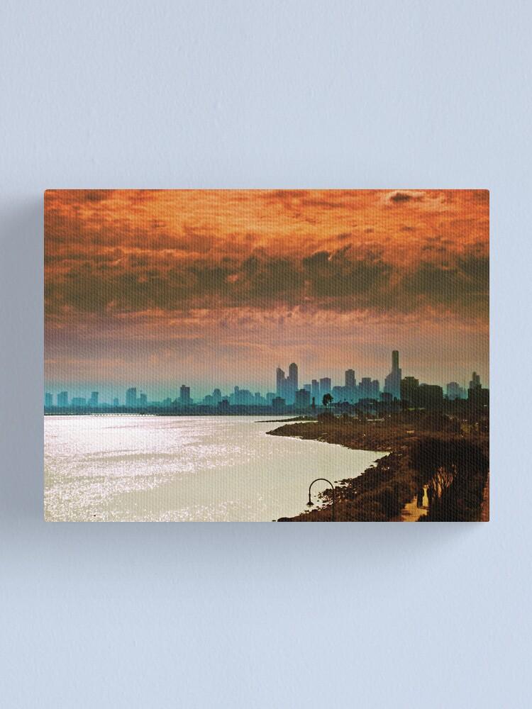 Alternate view of City of Melbourne, Australia Canvas Print