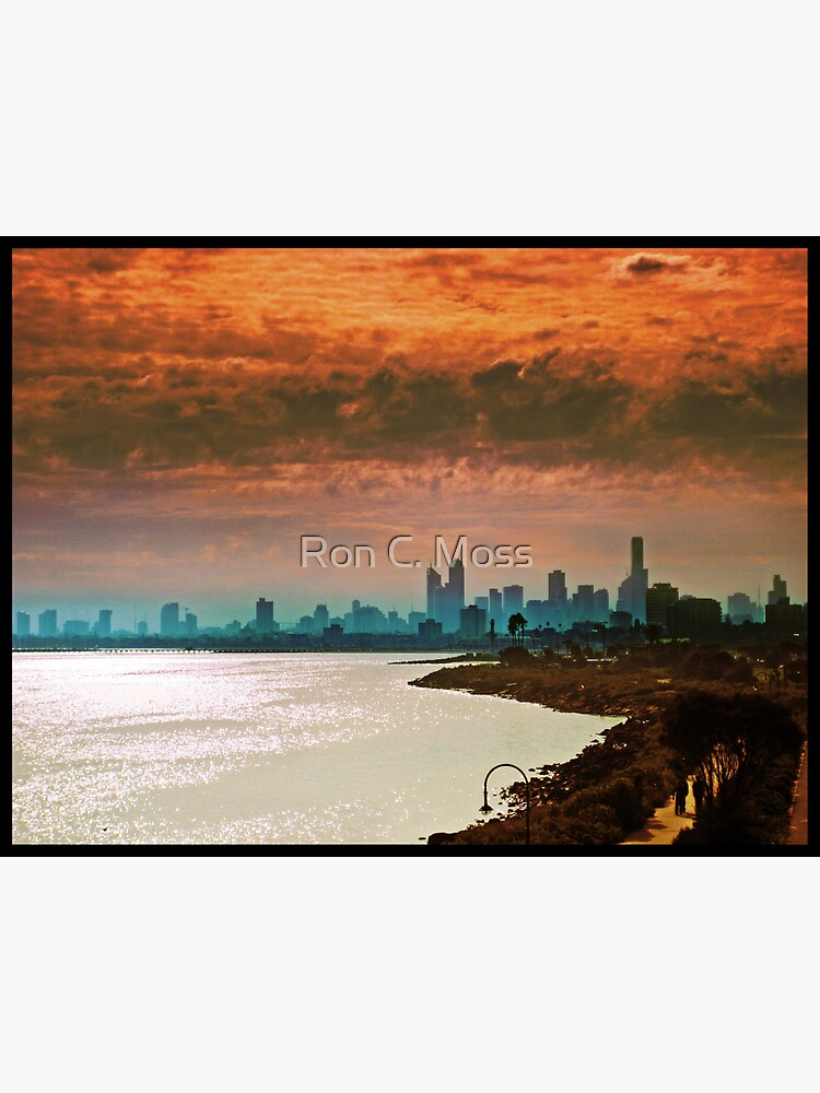 City of Melbourne, Australia by ronmoss