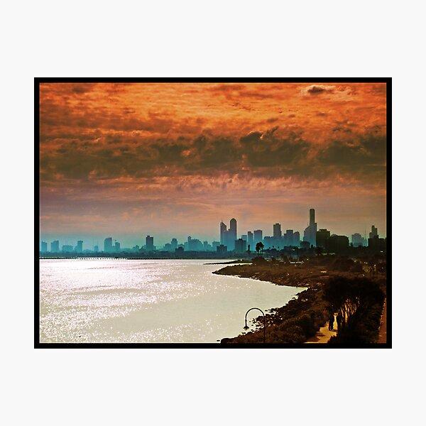 City of Melbourne, Australia Photographic Print