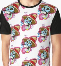 Laughing sugar skull Graphic T-Shirt