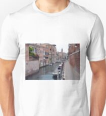 6 June 2017 Picturesque buildings near a canal in Venice, Italy T-Shirt