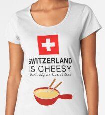 Swiss Fondue Women's Premium T-Shirt