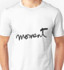 """""""moment"""" hand drawn typography T-Shirt"""