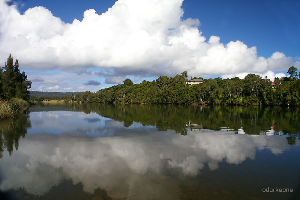 Taree Estate Reflections 1 by odarkeone