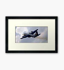 The U.S. Marine Corps C-130 Hercules. Framed Print
