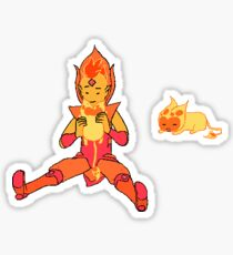 Flame Prince Sticker