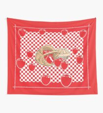 Basket of Red Delicious Apples and Pie Wall Tapestry
