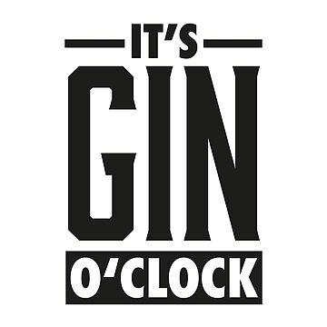 Gin o'clock / Gin  by PIY