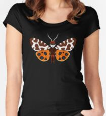 Mothboy02(b) Women's Fitted Scoop T-Shirt