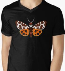 Mothboy02(b) Men's V-Neck T-Shirt