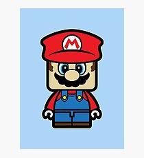 Super Chibi Mario Photographic Print
