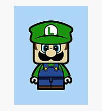 Super Chibi Luigi Photographic Print