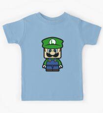 Super Chibi Luigi Kids Clothes
