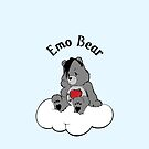 Emo Bear by TheVeganTaff