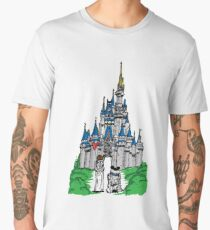 Princess and Castle Men's Premium T-Shirt