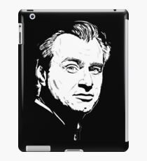 nolan in black white iPad Case/Skin