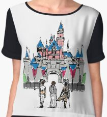 Ladies and Castle Women's Chiffon Top