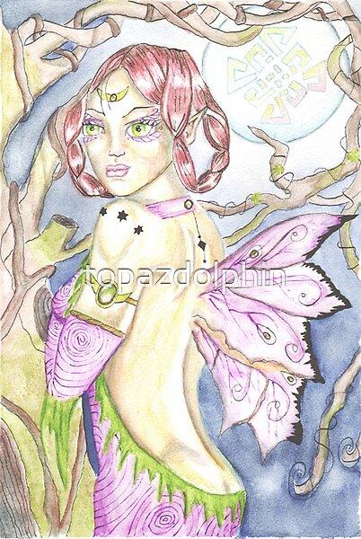 Beryl butterfly by topazdolphin