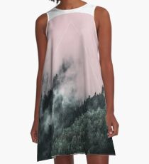 Foggy Woods 2 A-Line Dress